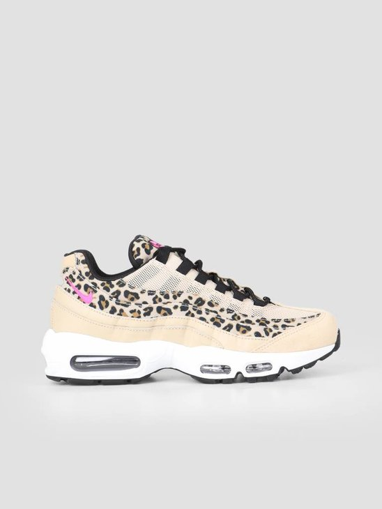 Nike Air Max 95 Prm Desert Ore Laser Fuchsia Black Wheat Cd0180-200
