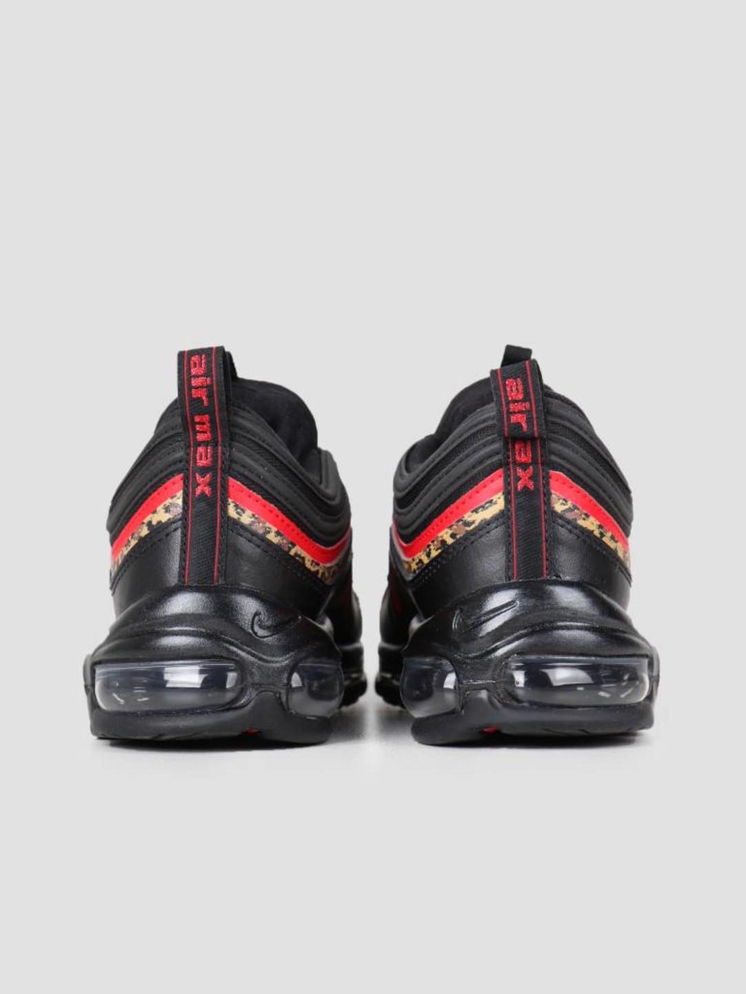 Nike Nike Air Max 97 Black University Red-Print Bv6113-001