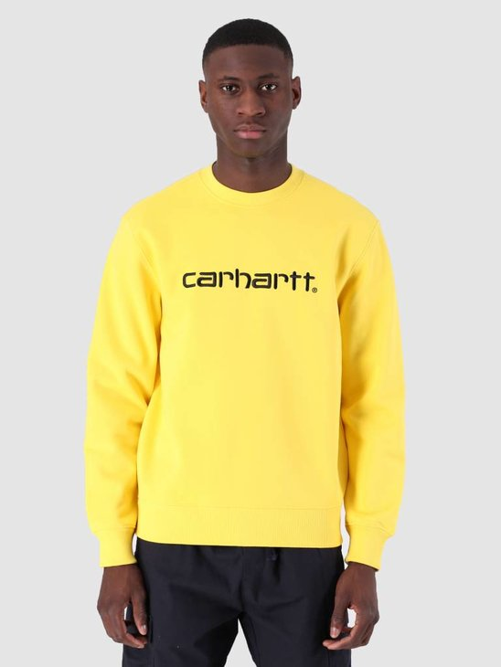 Carhartt WIP Sweat Primula Black I027092