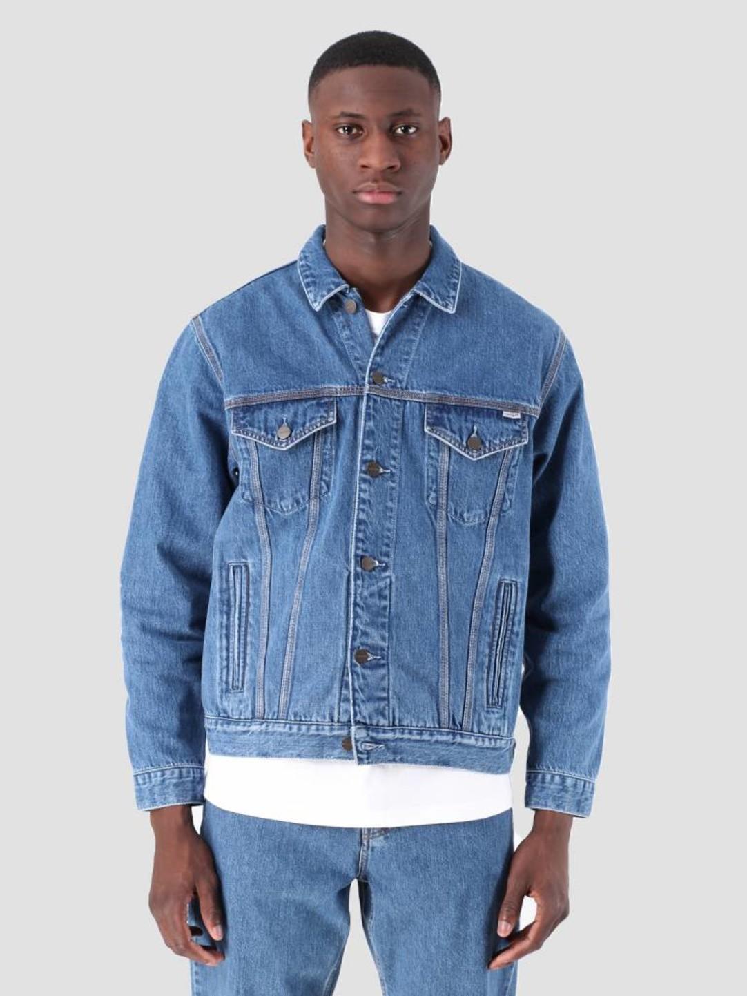 Carhartt WIP Carhartt WIP Western Jacket Stone Washed Blue I026544