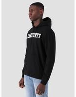 Carhartt WIP Carhartt WIP Hooded College Sweat Black White I024669