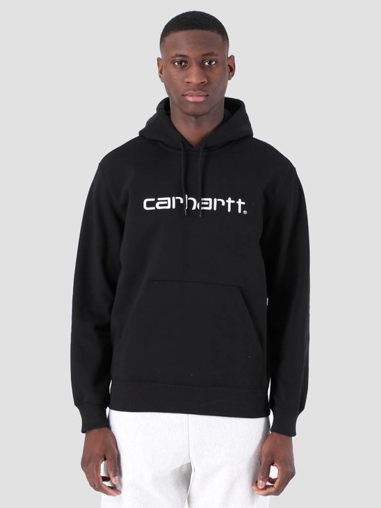 Carhartt WIP Hooded Carhartt WIP Sweat Black White I027093