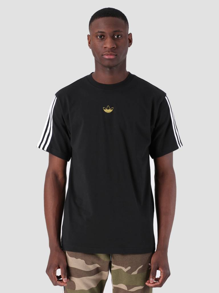 huge discount ea70d bdadd adidas adidas Floating T-Shirt Black White DV3262