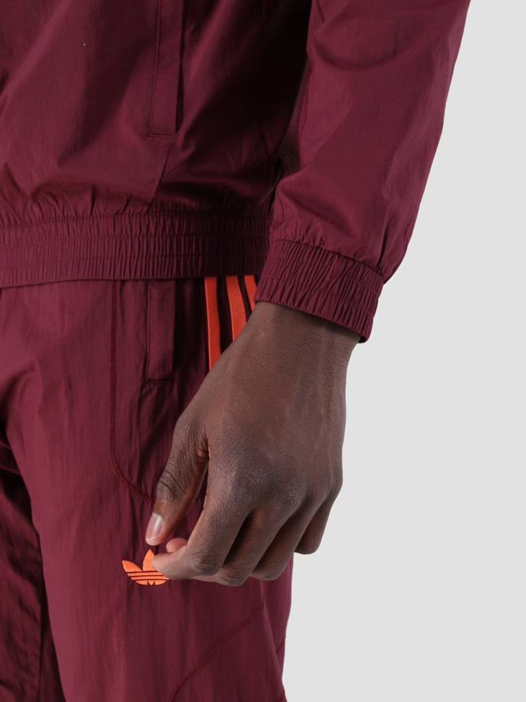 adidas adidas Flamestrk Wv Track Top Maroon DU8132
