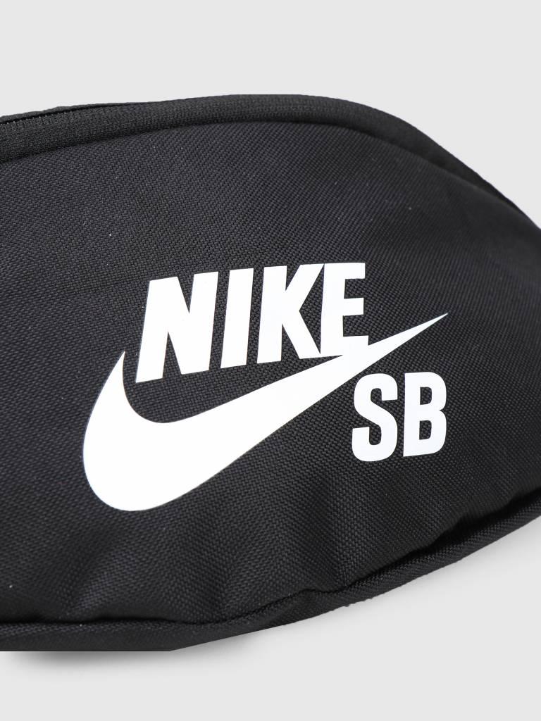 c1e549fab5e9 Nike SB Heritage Bag Black Black White Ba6077-010 - FRESHCOTTON