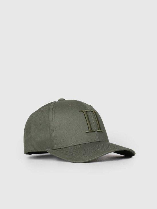 Les Deux Encore Baseball Cap Dark Green LDM702018
