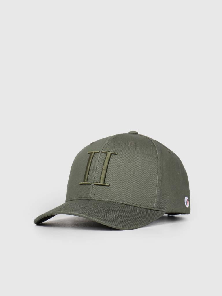 Les Deux Les Deux Encore Baseball Cap Dark Green LDM702018