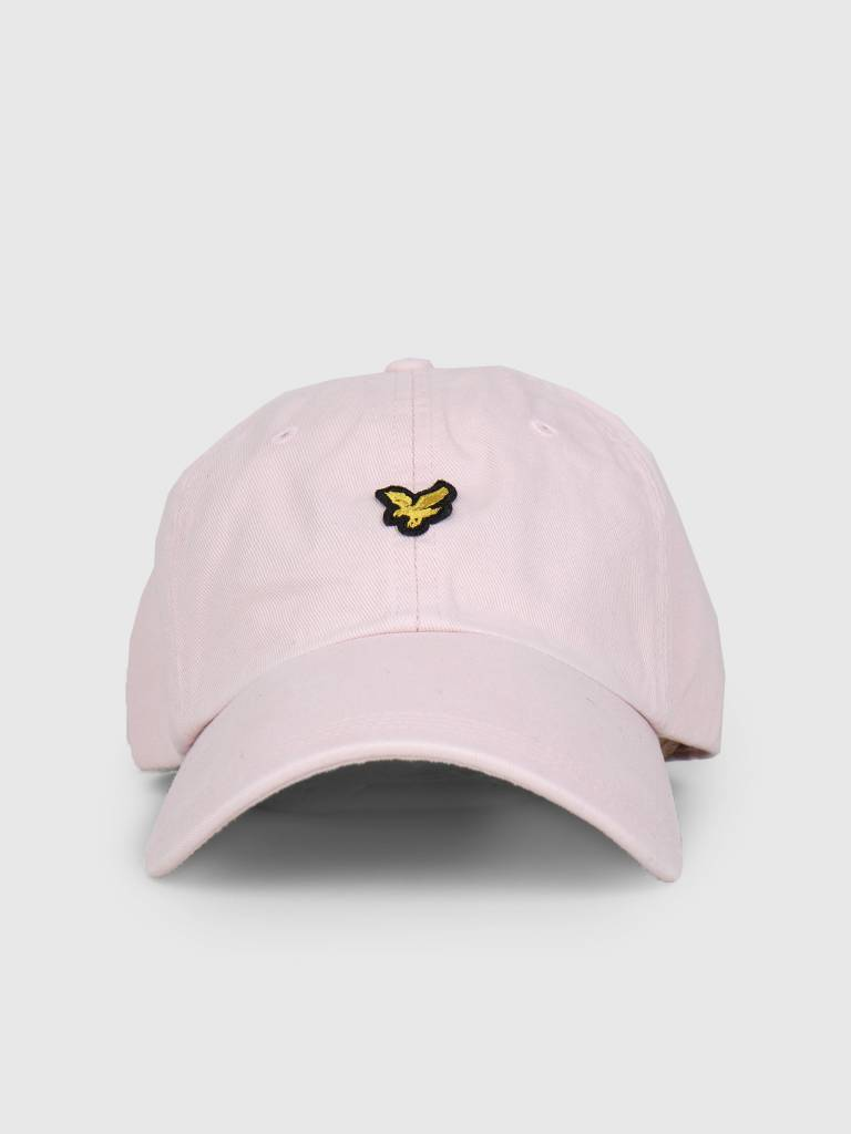 Lyle and Scott Lyle and Scott Washed Twill Baseball Cap Z460 Dusky Lilac HE1003A
