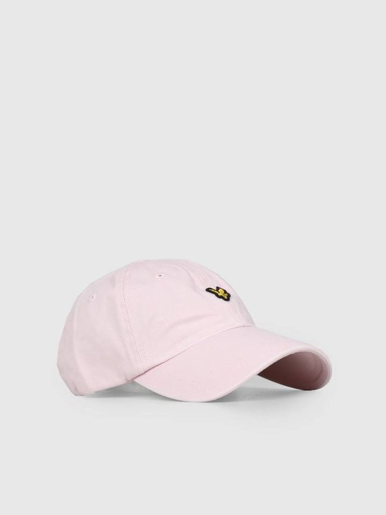 Lyle and Scott Washed Twill Baseball Cap Z460 Dusky Lilac HE1003A