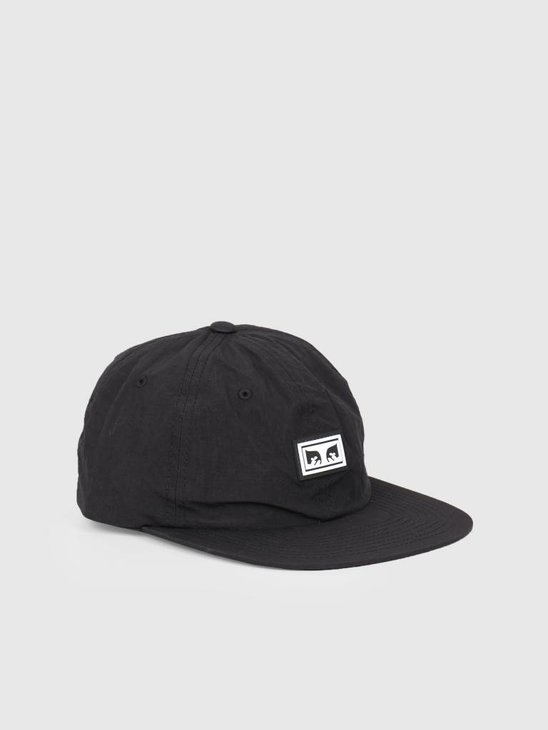 Obey Alchemy 6 Panel Strapback BLK 100580176