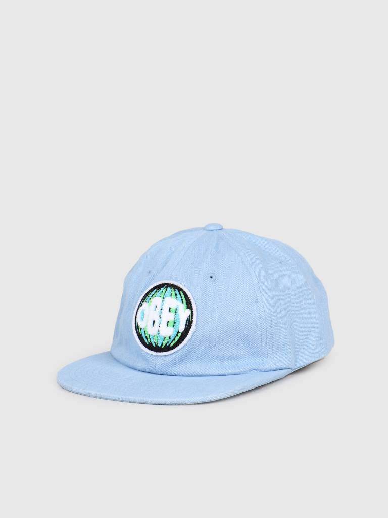 Obey Obey Deflated 6 Panel Strapback DEN 100580180
