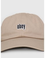 Obey Obey Highland 6 Panel Snapback KHA 100580171