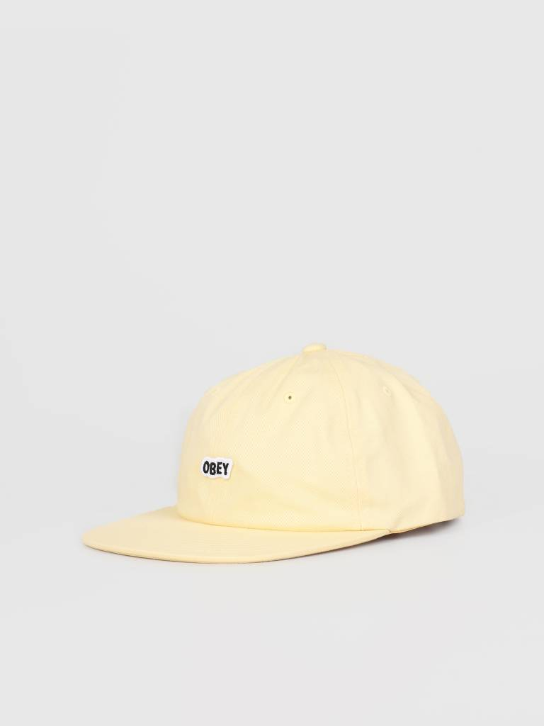 Obey Obey Sleeper 6 Panel Strapback YEL 100580174