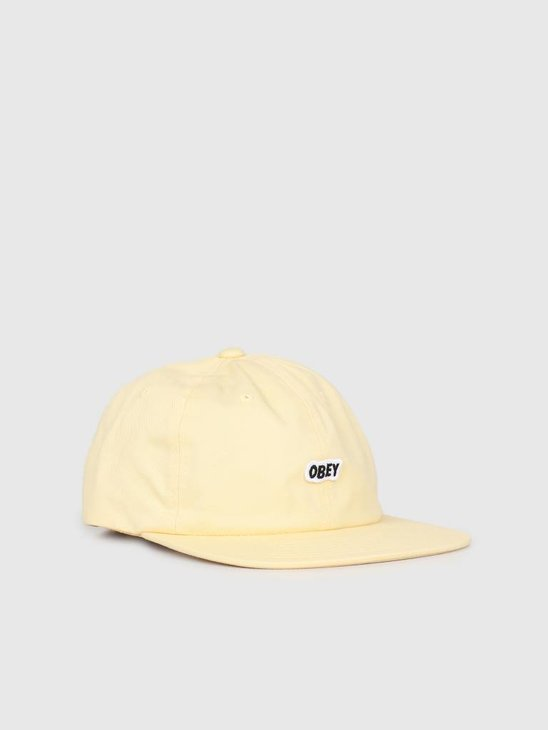 Obey Sleeper 6 Panel Strapback YEL 100580174