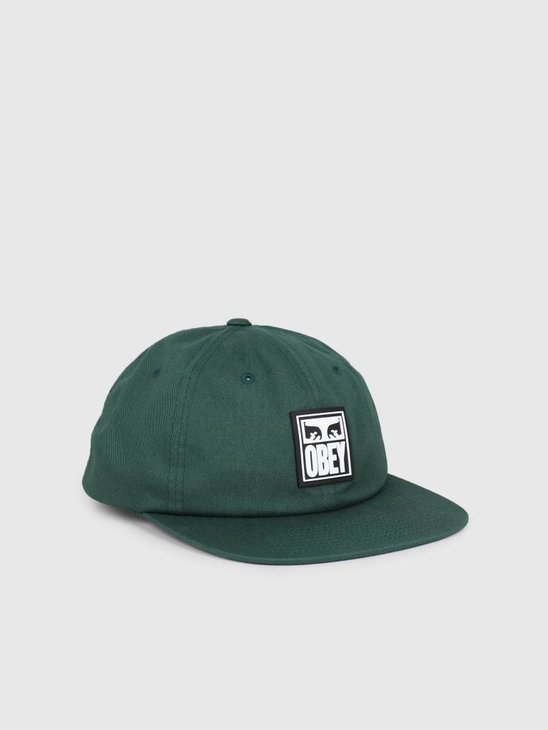 Obey Vanish 6 Panel Snapback GRN 100580188