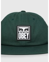 Obey Obey Vanish 6 Panel Snapback GRN 100580188