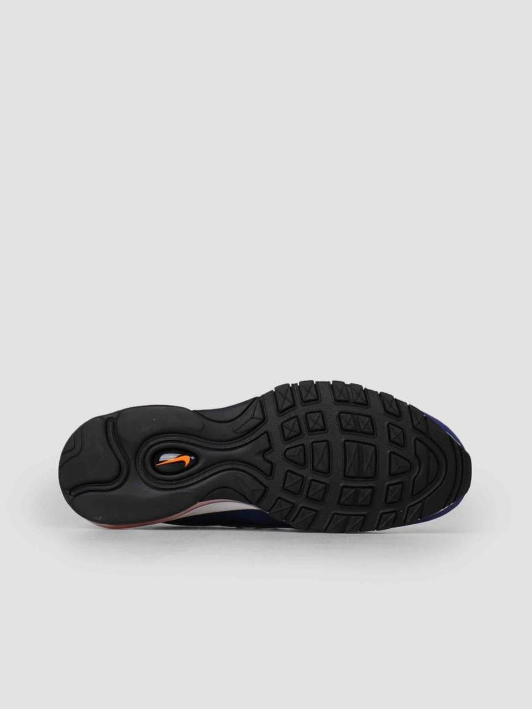 Nike Nike Air Max 98 White Deep Royal Blue-Total Orange-Black Cd1536-100