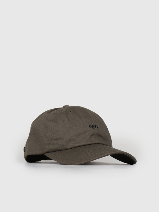 Obey Cutty 6 Panel Snapback ARM 100580074