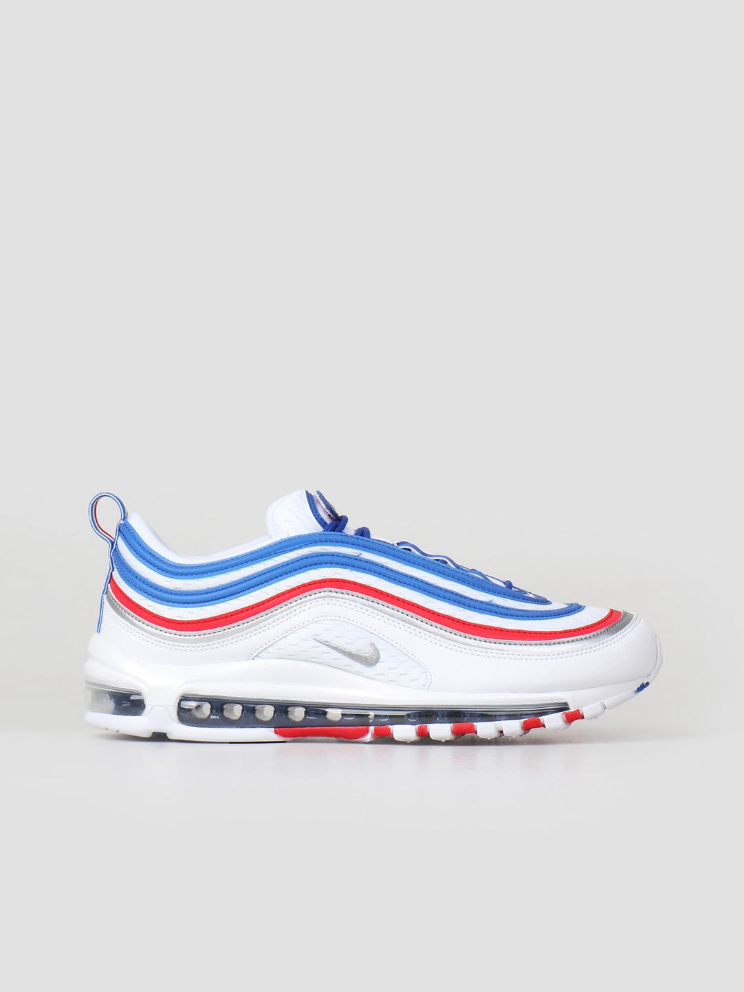 7308726245 Nike Air Max 97 Shoe Game Royal Metallic Silver 921826-404 | FRESHCOTTON