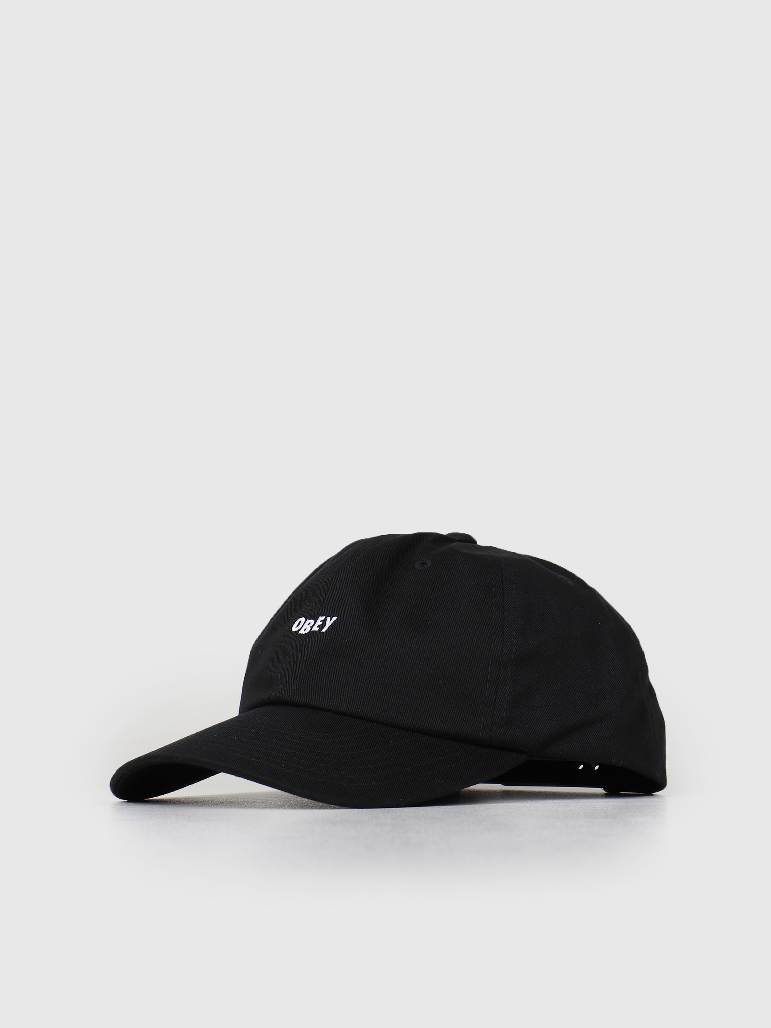 Obey Obey Cutty 6 Panel Snapback Black 100580074