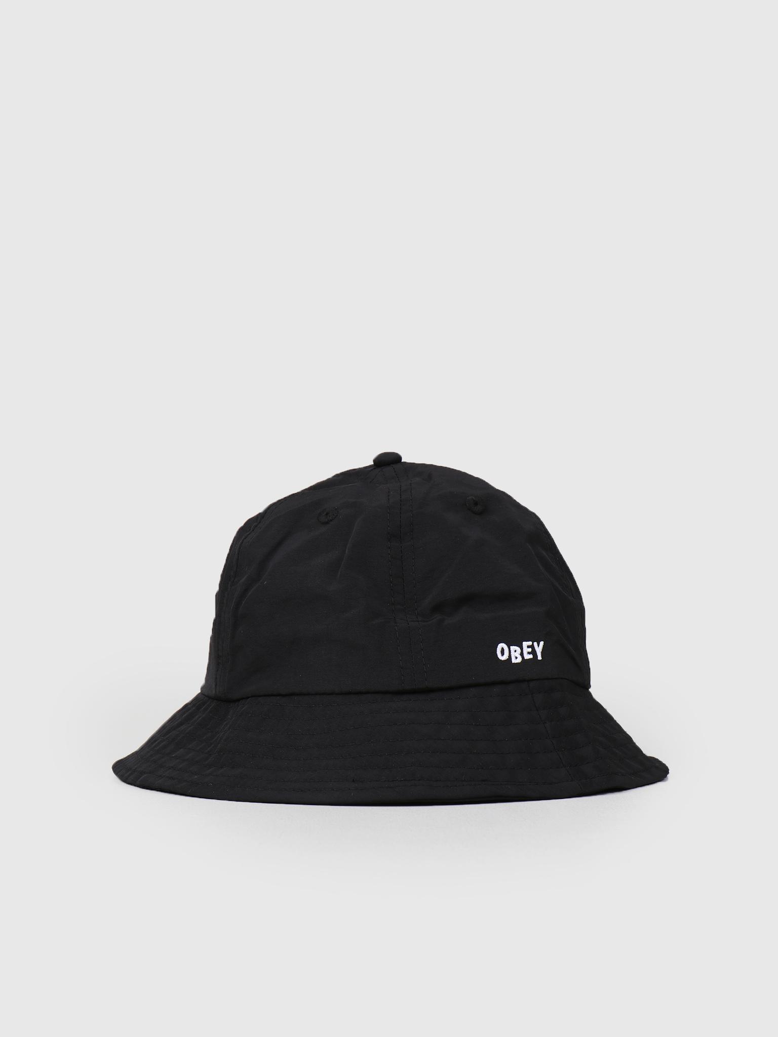 Obey Obey Frederick Bucket Hat BLK 100520019