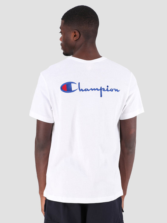 Champion Crewneck T-Shirt WHT 212974