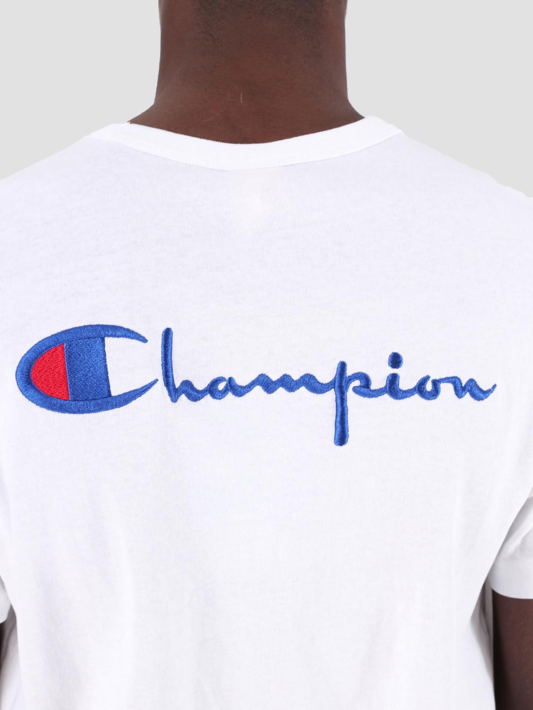 Champion Champion Crewneck T-Shirt WHT 212974