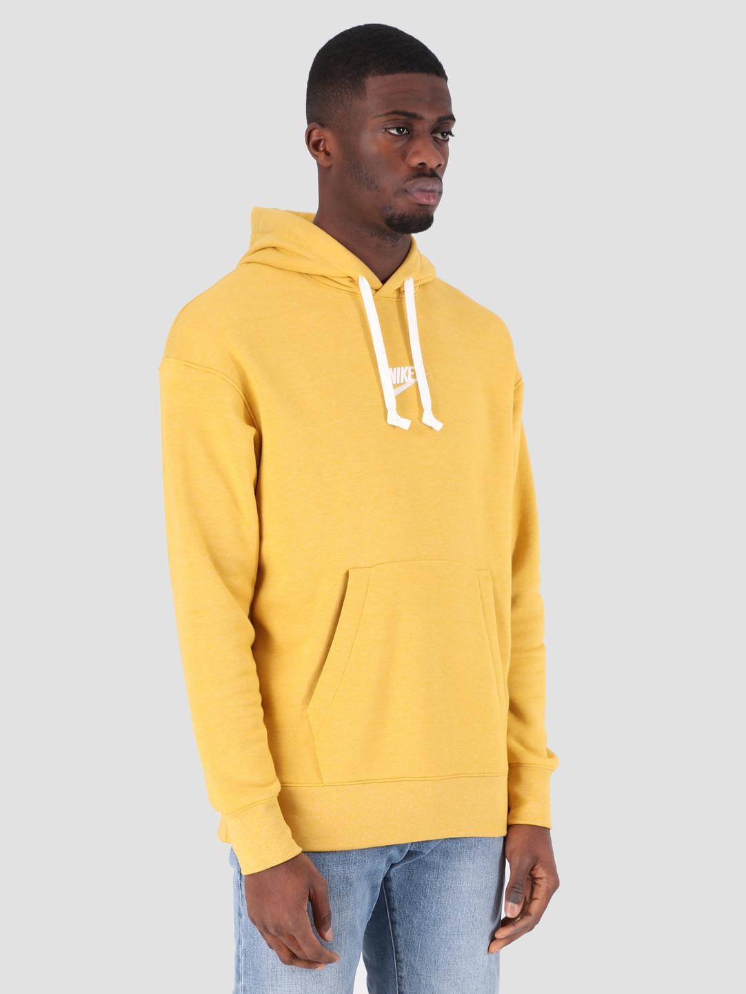 Nike Nike Sportswear Heritage Hoodie Gold Dart Htr Sail 928437-711
