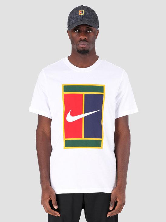 Nike M Nkct T-Shirt Heritage Logo White Bv5775-100
