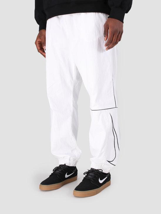 Nike SB Pant White Black Black Aj9774-100