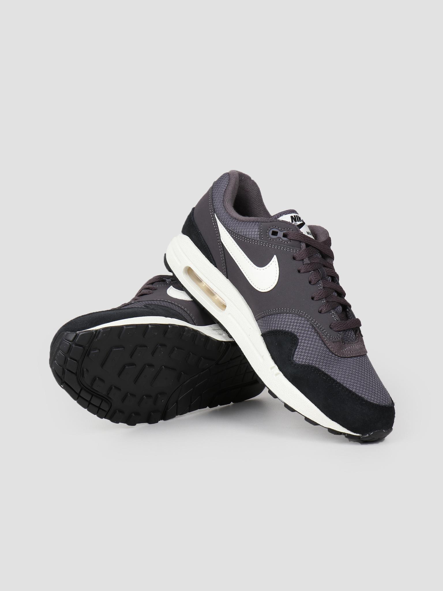 new style 7d480 e54da Nike Nike Air Max 1 Shoe Thunder Grey Sail-Sail-Black Ah8145-012