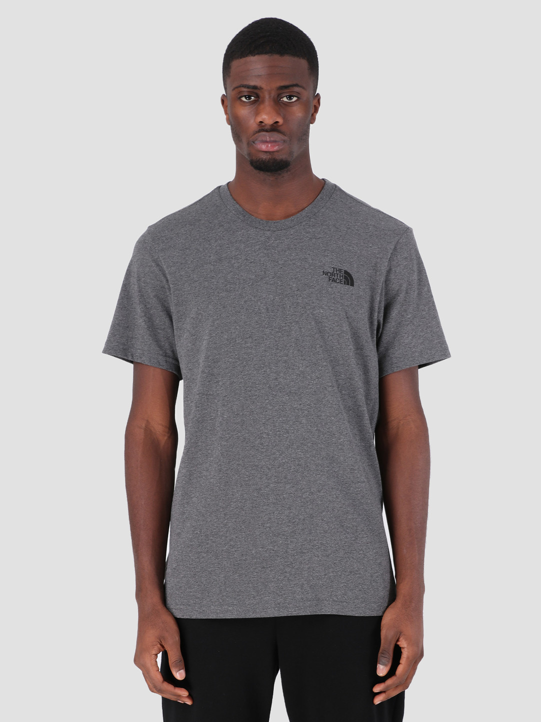 80b93f3b The North Face The North Face Simple Dome T-Shirt TNF Medium Grey Heather  T92TX5JBV