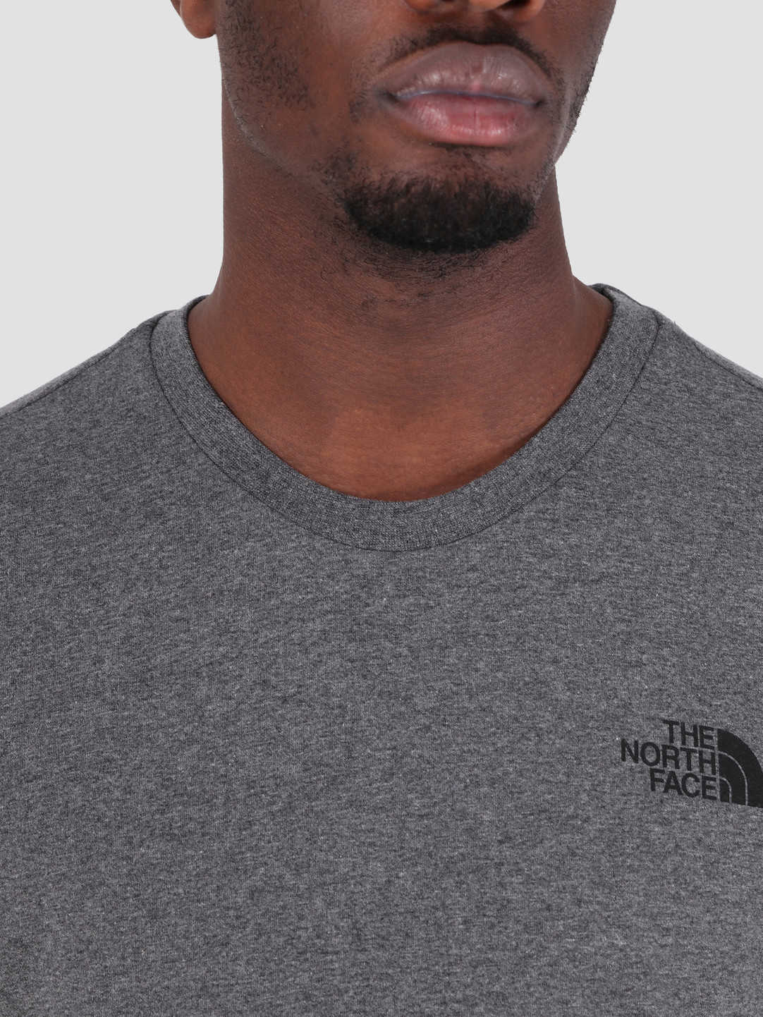 The North Face The North Face Simple Dome T-Shirt TNF Medium Grey Heather T92TX5JBV