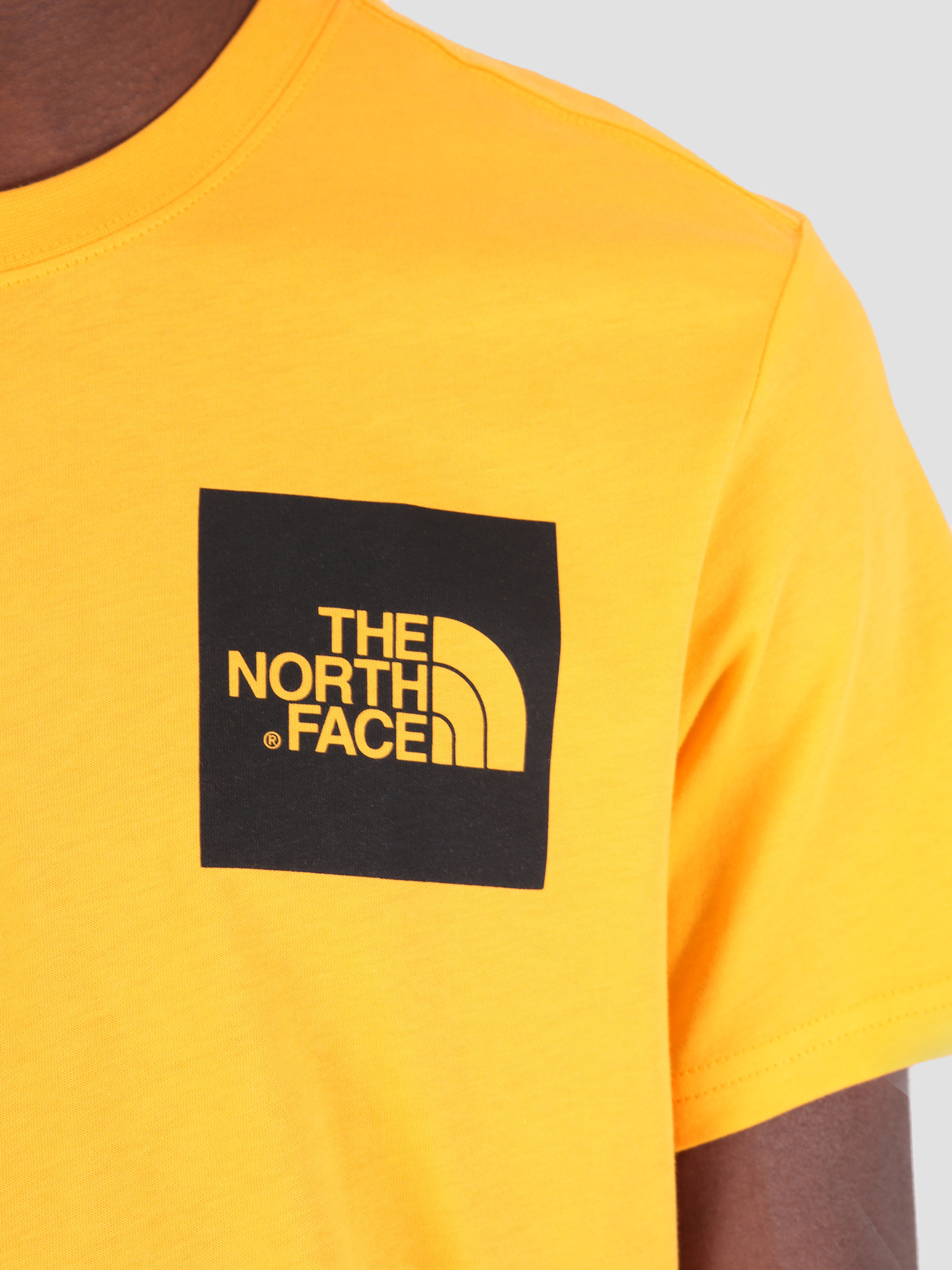 The North Face The North Face Fine T-Shirt Zinnia Orange T0CEQ5H6G