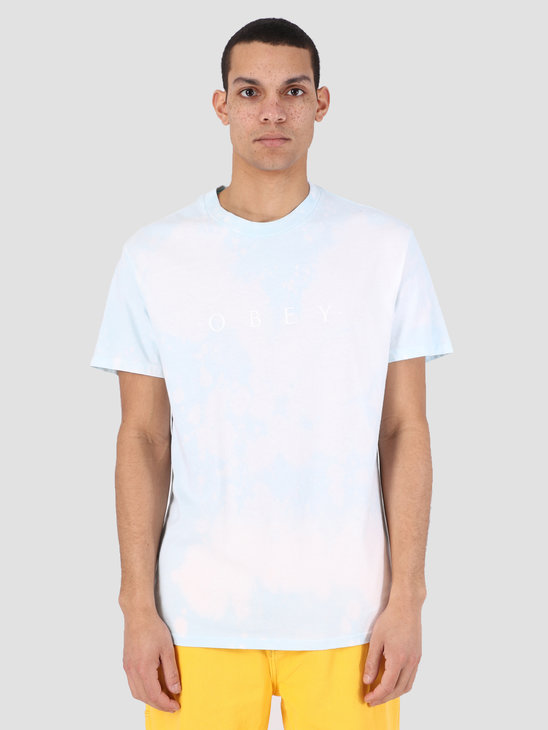 Obey Novel Obey Tie Dye T-Shirt PBU 166741578