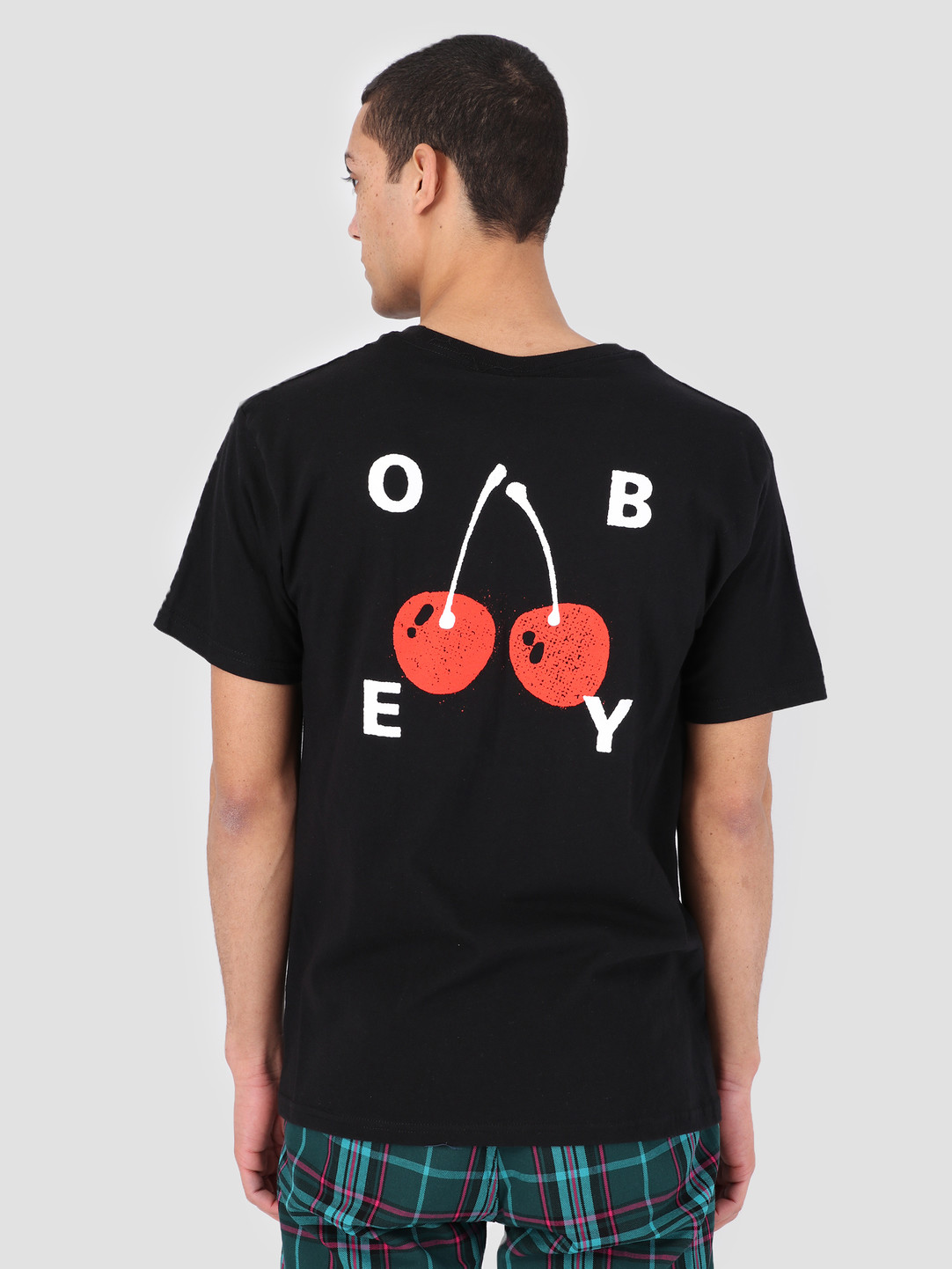 Obey Obey Obey Cherries 2 T-Shirt BLK 163081895