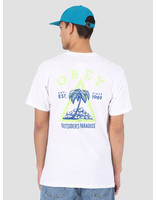 Obey Obey Obey Outsider'S Paradise T-Shirt WHT 163081923