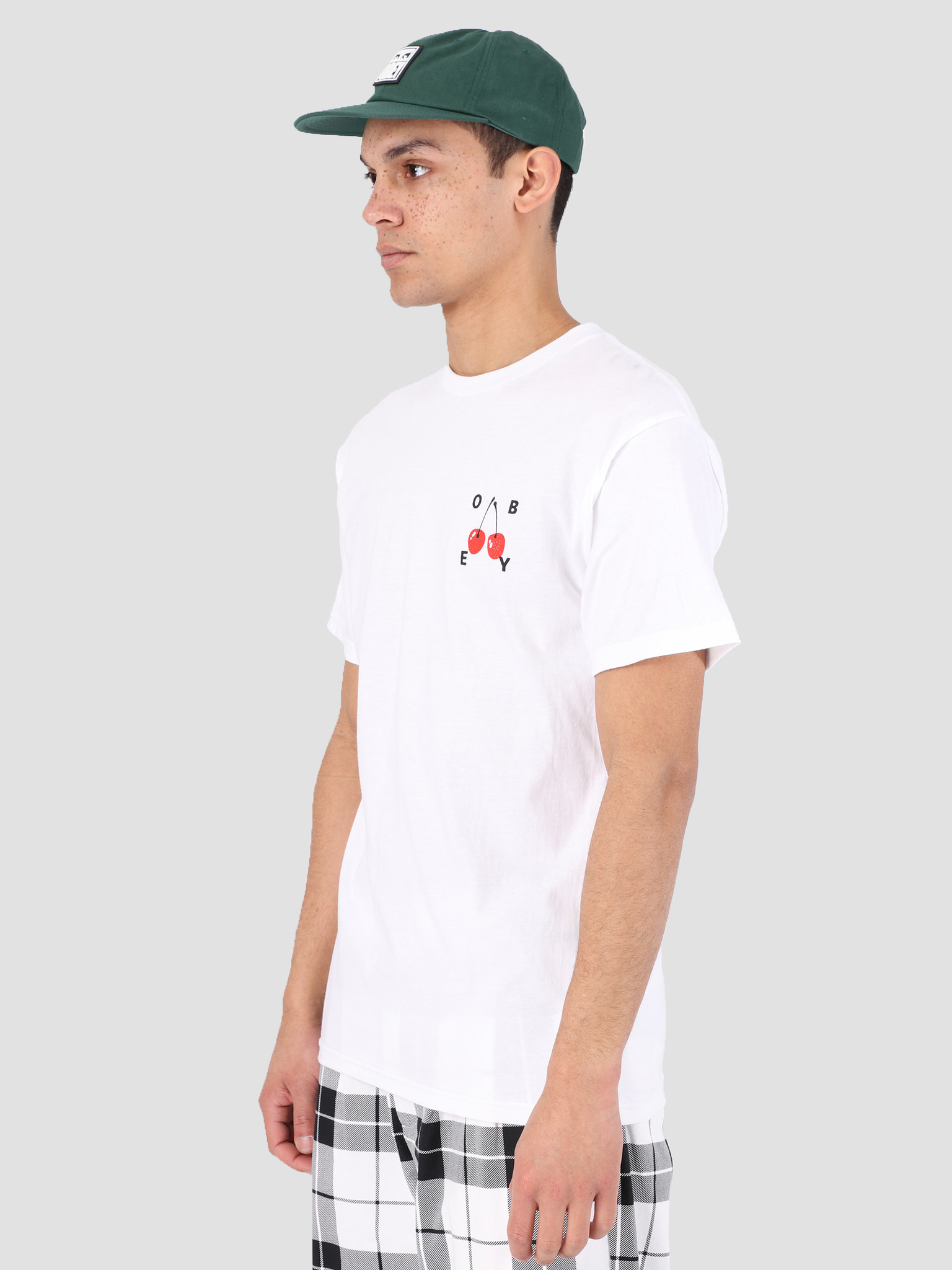 Obey Obey Obey Cherries 2 T-Shirt WHT 163081895