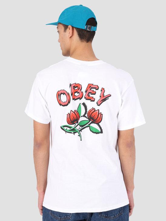 Obey Obey Briar T-Shirt WHT 163081926