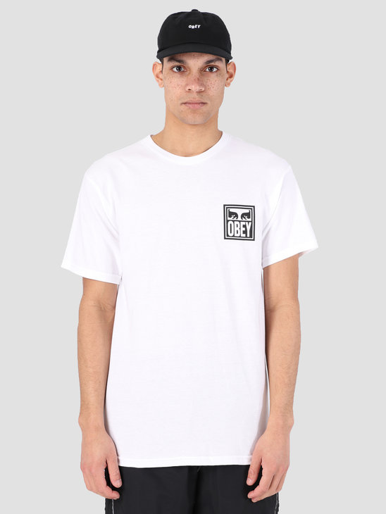 Obey Obey Eyes Icon T-Shirt WHT 163081874