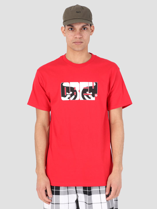 Obey Eyes Of Obey T-Shirt RED 163081913