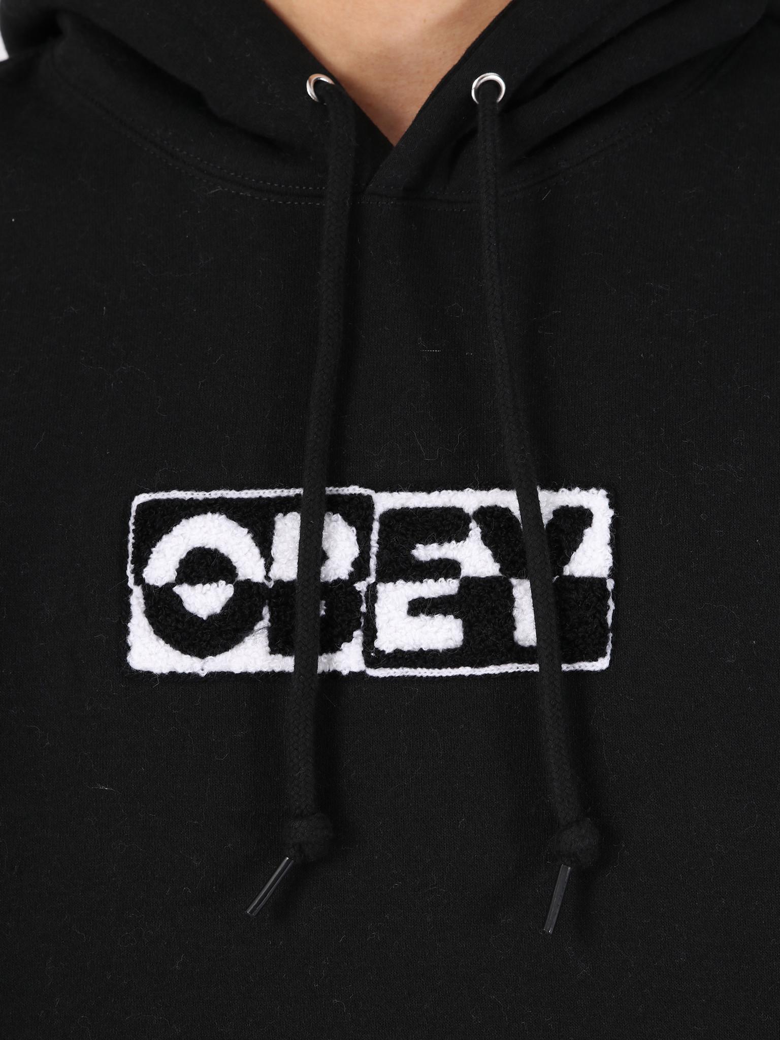 Obey Obey 2 Tone Hood BLK 112470046