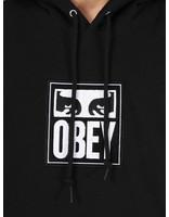 Obey Obey Split Eyes Hood BLK 112470048