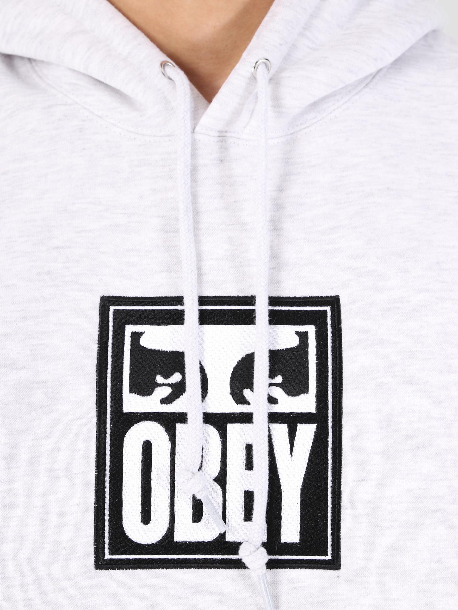 Obey Obey Split Eyes Hood AGRY 112470048