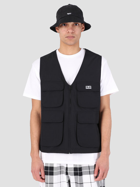 Obey Ceremony Technical Vest BLK 121810007