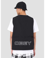 Obey Obey Ceremony Technical Vest BLK 121810007
