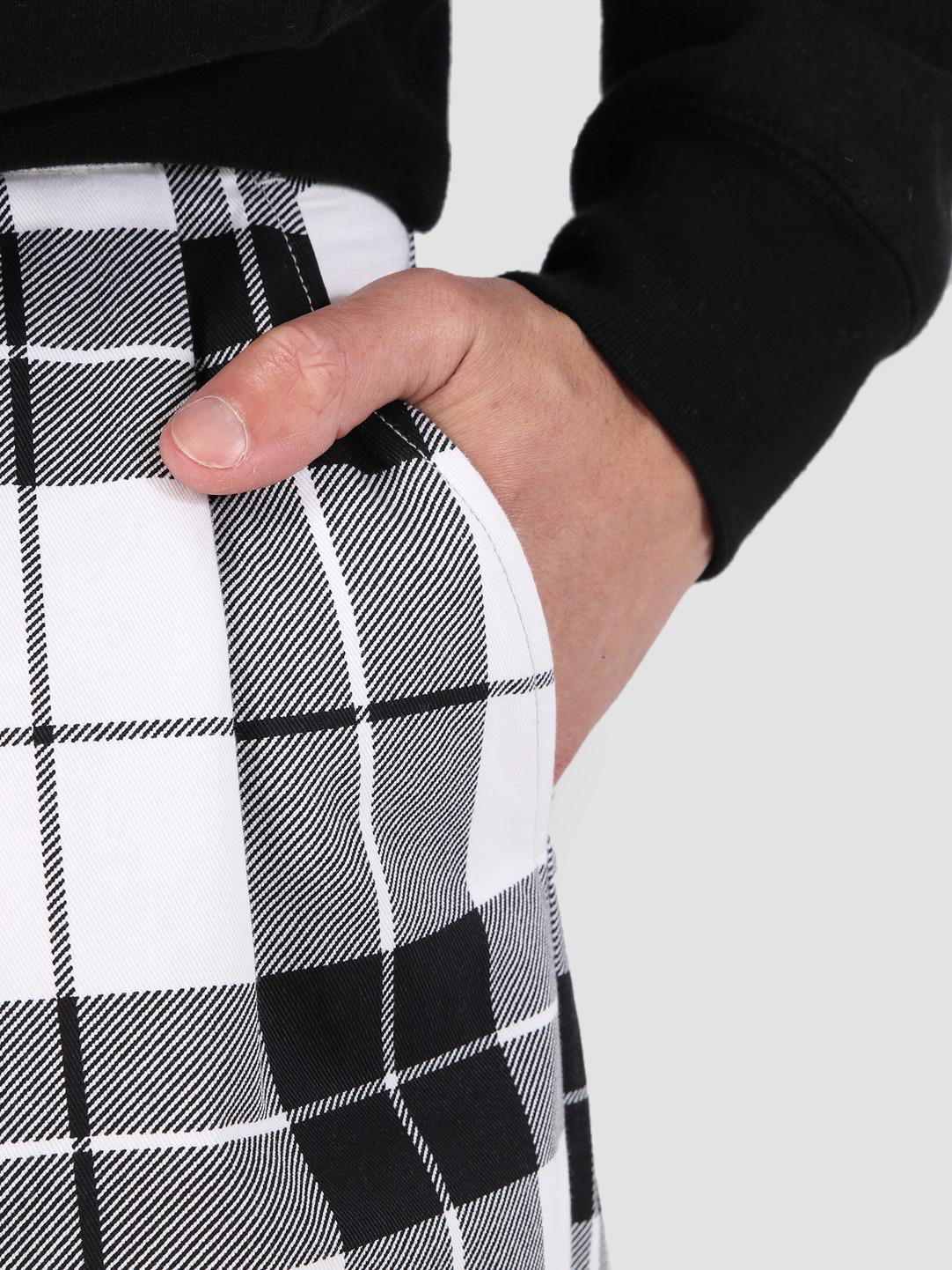 Obey Obey Fubar Pleated Plaid Pant WTM 142020128