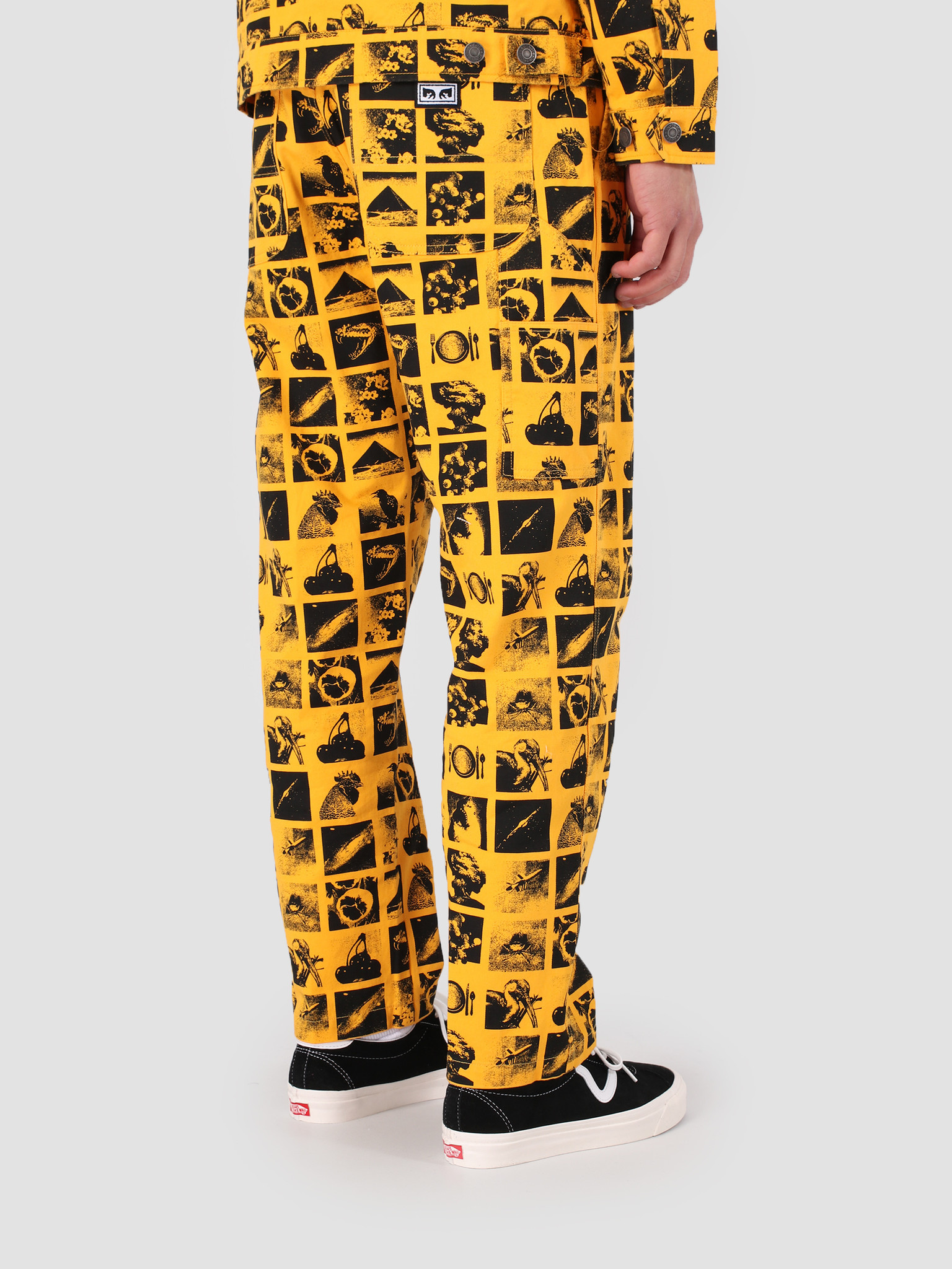 Obey Obey Hardwork Chaos Pant YEL 142020136