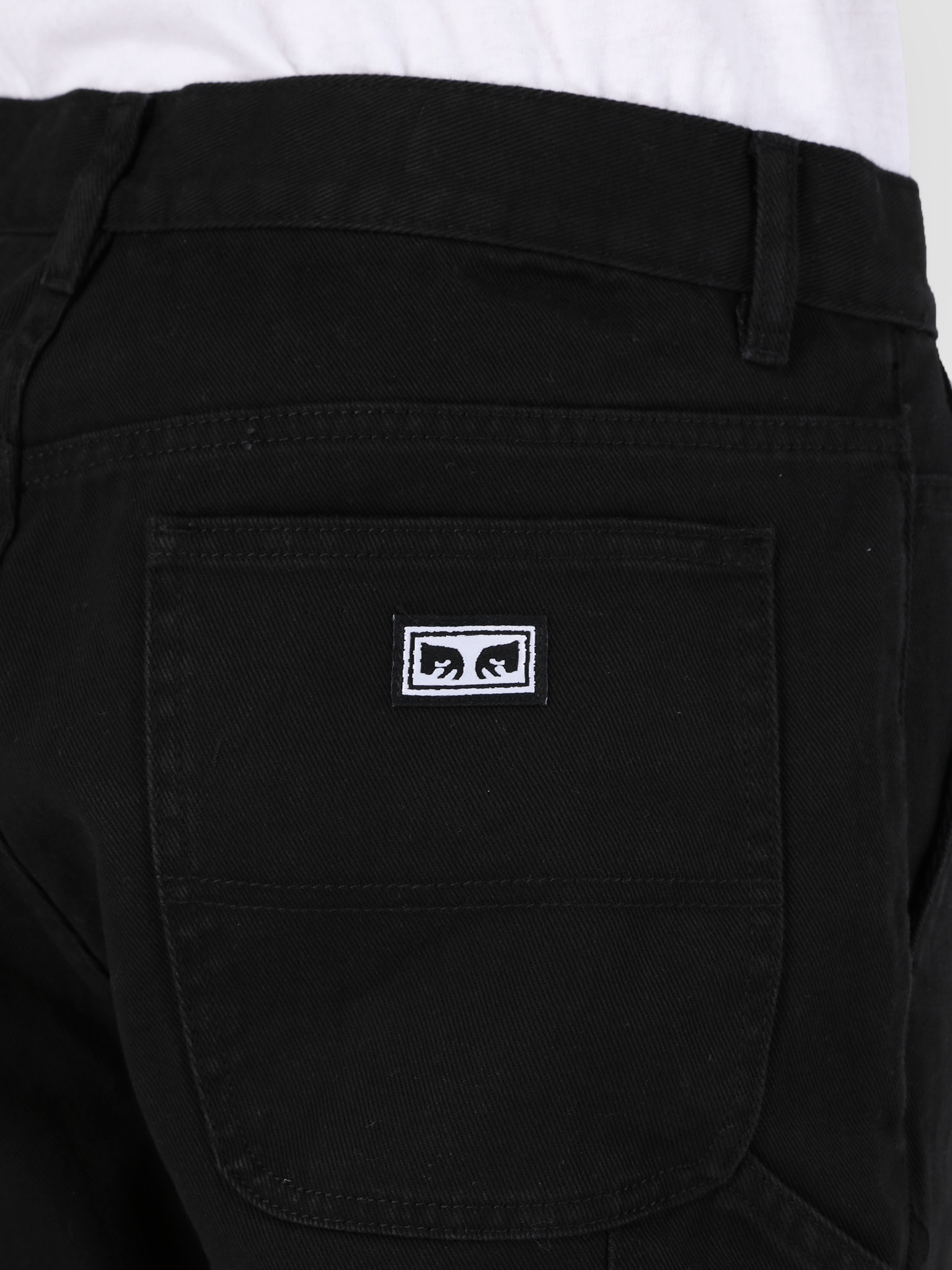 Obey Obey Hard Work Carpenter Bull BLK 142010067