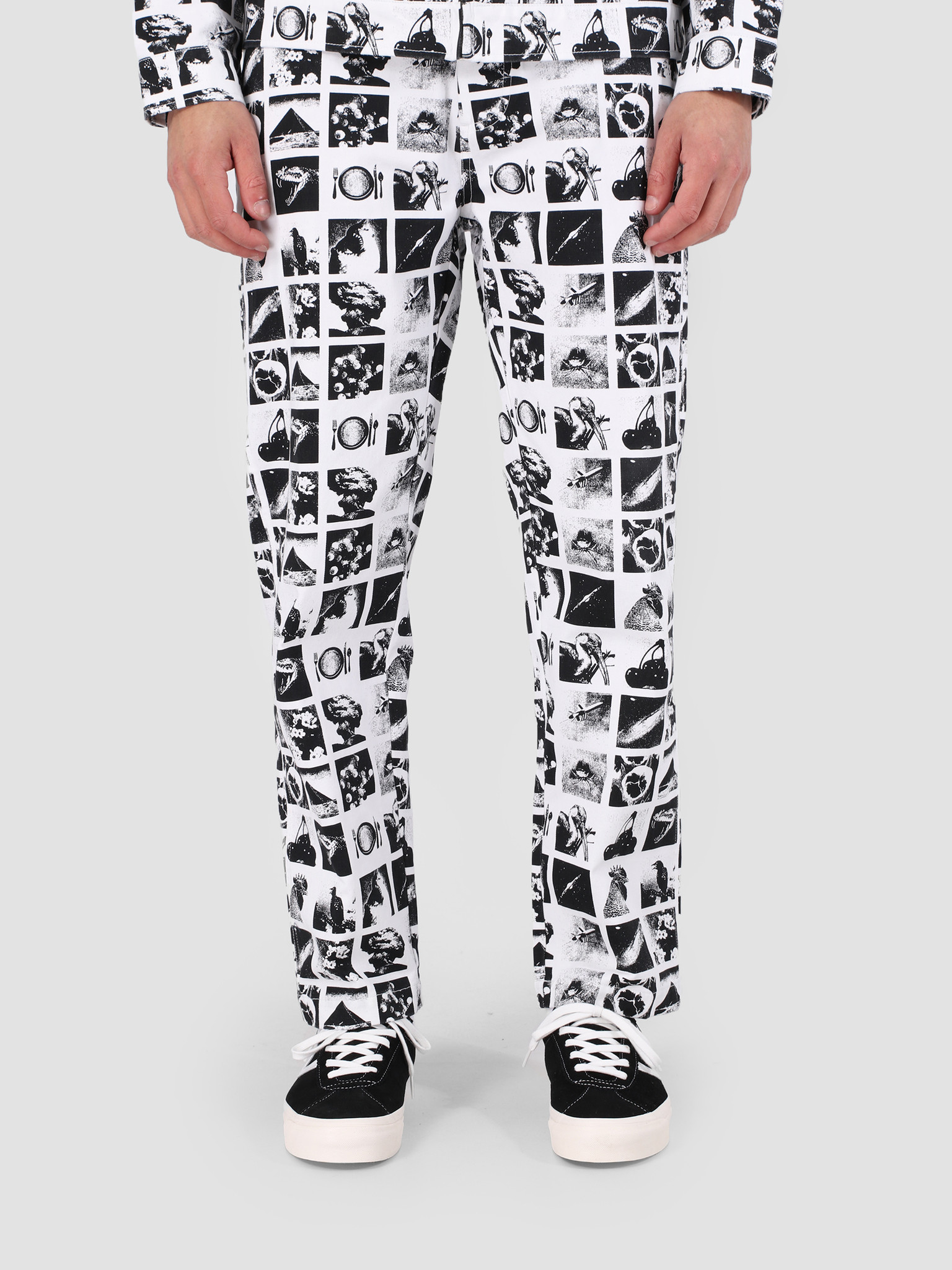 Obey Obey Hardwork Chaos Pant WHT 142020136